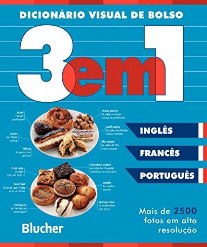 Dicionário Visual de Bolso - 3 em 1: Inglês/Francês
