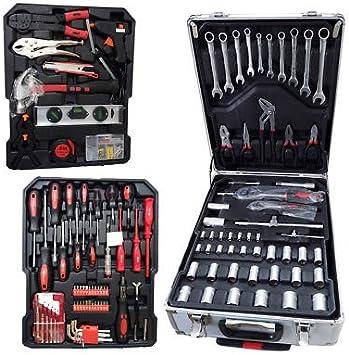 Maleta caja herramientas de trabajo completa Trolley Kit ...