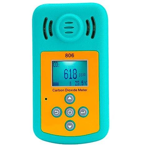 Yongse kxl-806 Mini Detector de dióxido de Carbono portátil CO2 Detector de Concentration de