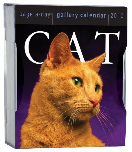 Cat Gallery Calendar 2010 (Page-A-Day Gallery Calendars) - Page 2010 Diary