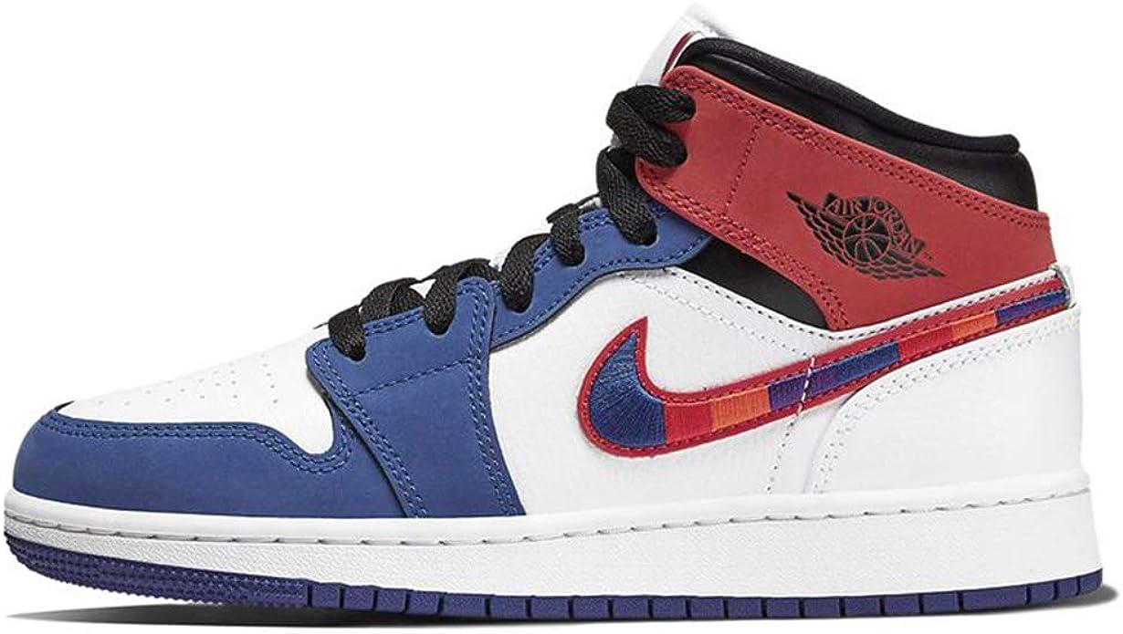Air Jordan 1 Mid Se (gs) Big Kids