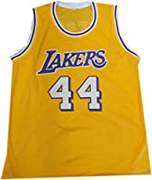 Jerry West Hand Signed Autographed  44 Yellow Jersey Los Angeles Lakers  Beckett 028be840e