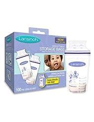 Lansinoh Breastmilk Storage Bags With Convenient Pour Spout a...