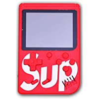 Handheld Game Console for Children, Built-in 400 Games, with 3.0 Inch LCD Display- red