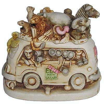 Harmony Kingdom - Ed's Safari II - Version 1 - Multi Animal Figurine