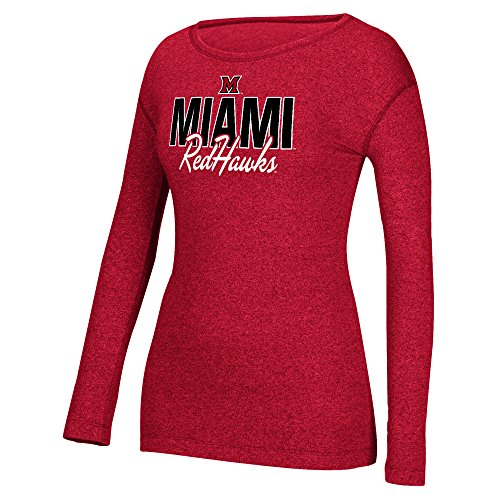 NCAA Miami (Ohio) Redhawks Women's Masco - Script Womens Long Sleeve Shopping Results