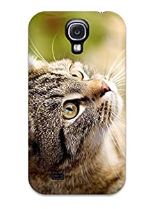Premium ZtztQDS7921rMGly Case With Scratch-resistant/ Curious Cat Case Cover For Galaxy S4