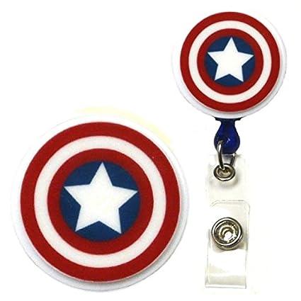 Amazon Avengers Infinity Wars Captain America Inspired Symbol