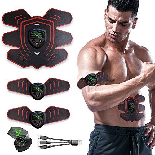 🥇 ROOTOK Electroestimulador Muscular Abdominales