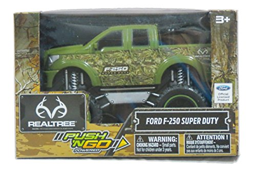 RealTree Camo Green Ford F-250 Super Duty Friction Push N Go Truck ()