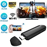 WiFi Display Dongle, iBosi Cheng Wireless Display Receiver HDMI Dongle for iOS Android Smartphones/Windows/MacBook Laptop to HDTV Projector Monitor