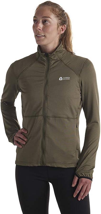 Sierra Designs Mens Cold Canyon Fleece Cold Weather Stretch Fleece Jacket