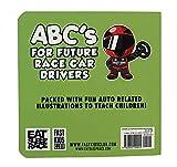ABC's For Future Race Car Drivers Alphabet Book