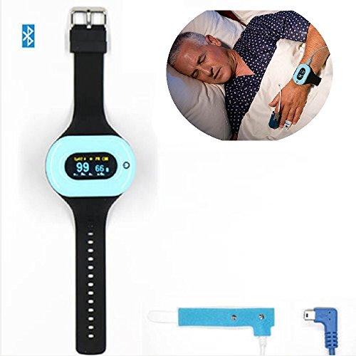 - Vjoy® Sleep Monitor Wristband, Bluetooth Pulse Oximeter for Vascular Disease