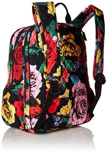 Women's Campus Tech Backpack, Signature Cotton, Havana Rose