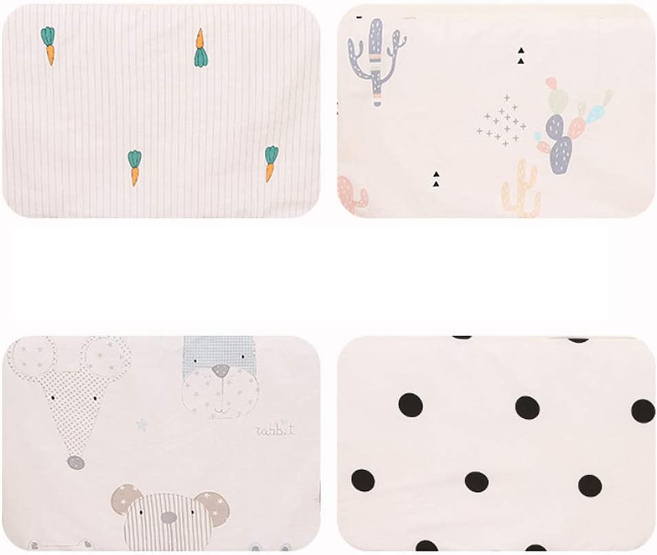 YiXUAN Baby Safe Crib Bumper Pads for Standard Washable Padded Crib Liner Nursery Bed