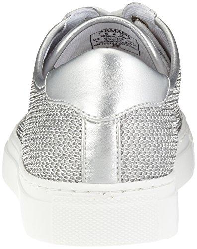 Donna Armani Sneaker 9252087p597 Argento Argento TYqT7wx1n0
