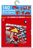 Ma Boite a Gommettes : les Camions des Pompiers- De 3 à 5 ans