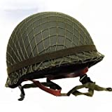 GPP® Perfect WWII US Army M1 Green Helmet Replica with Net/ Canvas chin strap DIY Painting