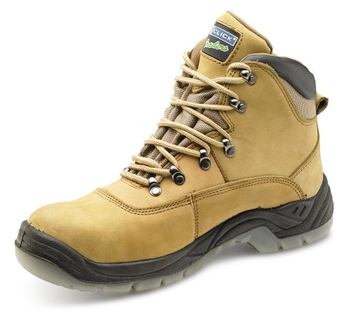 Click S3 Thinsualte Safety Boot Honey Nubuck - Size 12