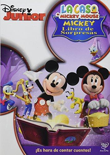 La Casa de Mickey Mouse-Mickey Libro de Sorpresas