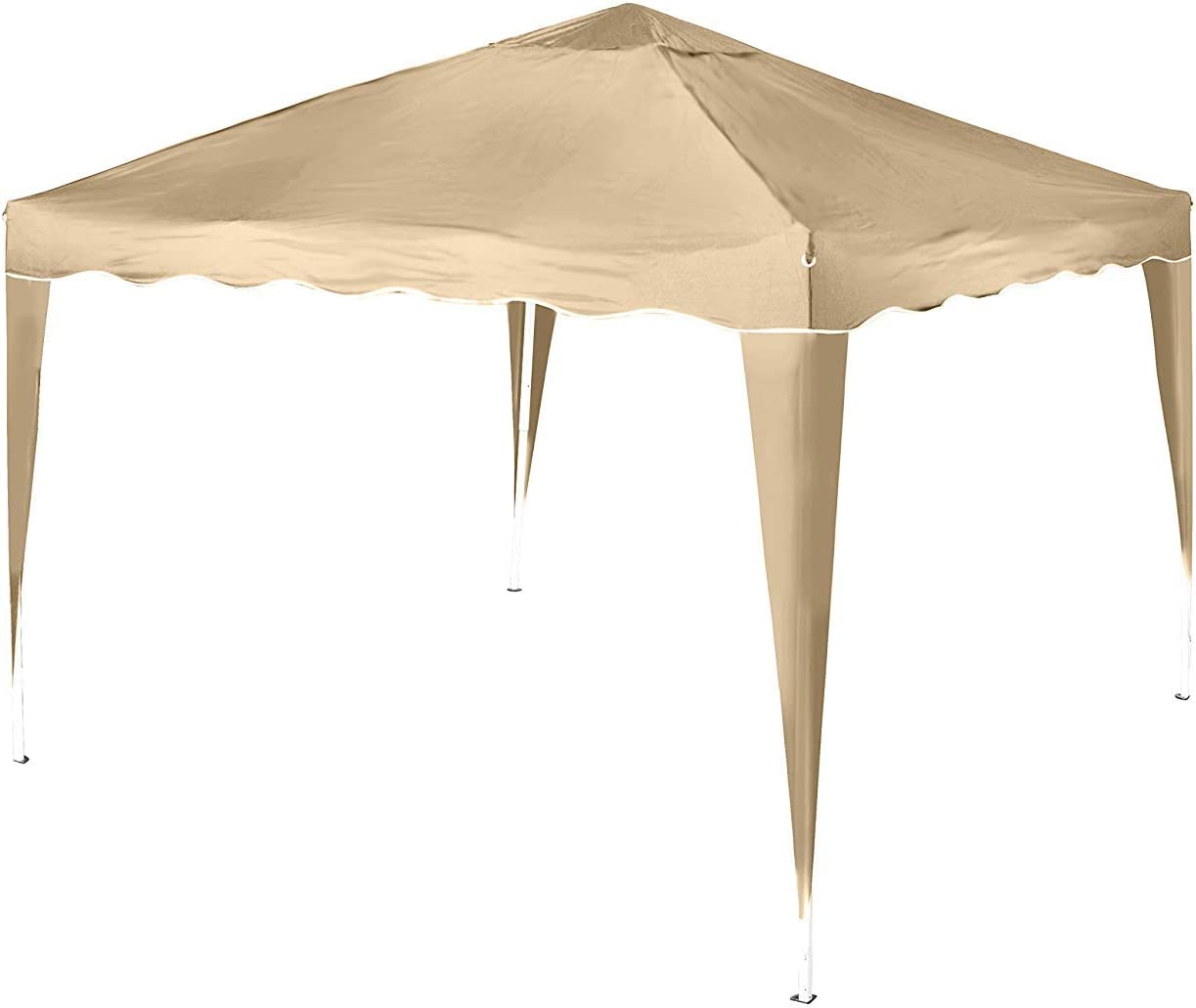 DeFacto® - Carpa plegable de 3 x 3 m para jardín, PVC, 100 ...