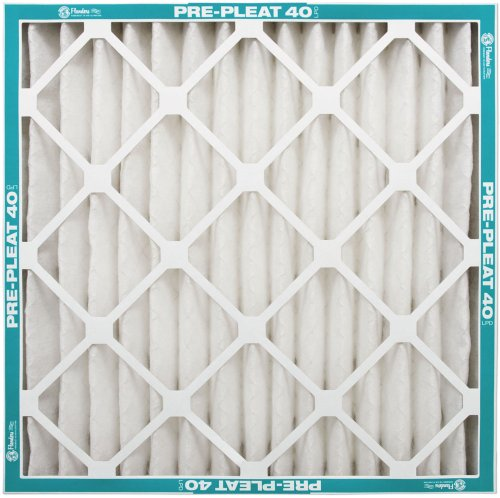 NaturalAire Pre-Pleat 40 Air Filter, MERV 8, 16 x 25 x 4-Inch, 6-Pack by Flanders