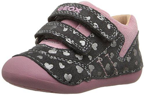1b4d70830 Grau B Geox para dk Tutim Niños Zapatos Pinkc1377 Bebé C dk Grey fTwSwqO