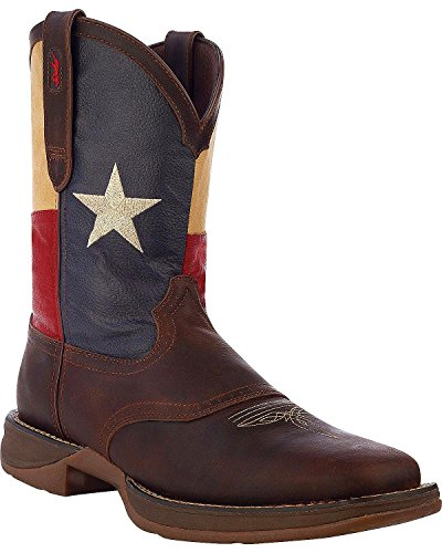 Durango Men's Rebel Texas Flag Boots