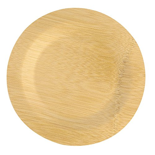 Lovely Bamboo disposable plates, pack of 25
