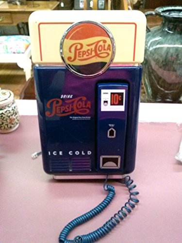 (PEPSI COLA NOSTALGIC VENDING MACHINE PHONE)