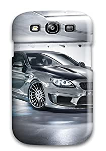 Galaxy S3 Case Cover - Slim Fit Tpu Protector Shock Absorbent Case (2014 Hamann Bmw M6 Gran Coupe)