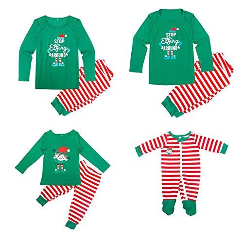 matching mom dad baby pajamas
