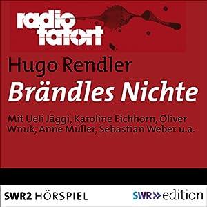 Brändles Nichte (Radio Tatort) Hörspiel