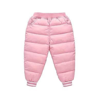 f3f7a7f43e16f Burning Go 子供服 ダウン パンツ ロング丈 柔らかい シンプル 長ズボン ベビー ダウンパンツ 厚い
