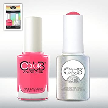 Amazon.com: Color Club Gel JACKIE OH! Neon Gel Nail Polish Duo Set ...
