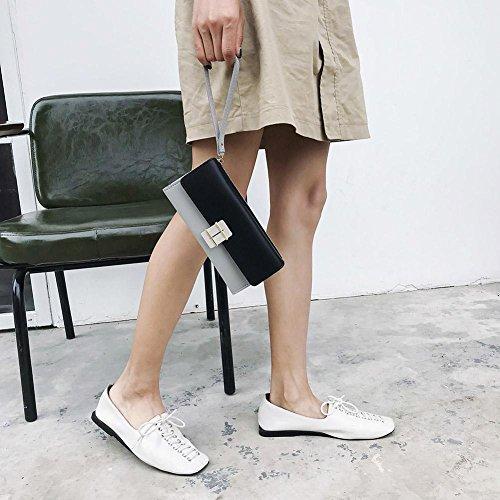 Widewing Clutch Black Lady Handbags Leather Elegant Purse Women Wristlets Long Wallet Hasp rxOPrwIq7