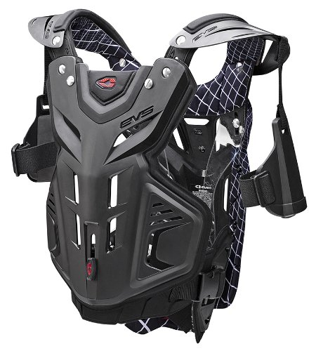 EVS Sports F2 Roost Guard (Black, Medium)