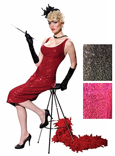[Women's Club Burlesque Glittery Gown Costume Fancy Dress G-String Lounge Singer] (Singer Fancy Dress Costumes)
