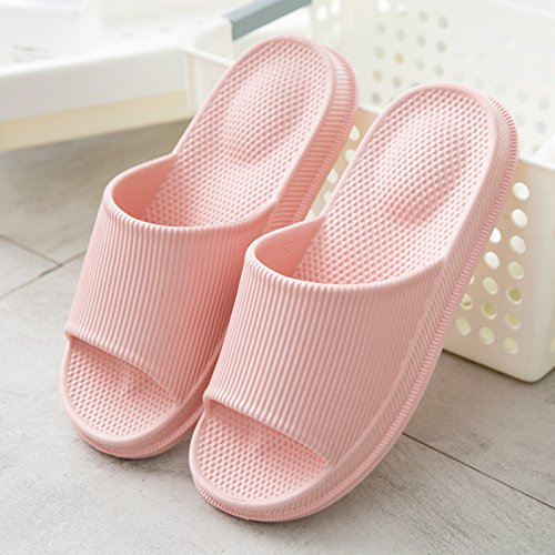 Shoes 36 fankou Summer Cool Pink Bath Slippers Bath Couples Home Cool Home and Drag Slippers Male Slippers Non Massage Slip Female Slippers HHFqWAEnSR