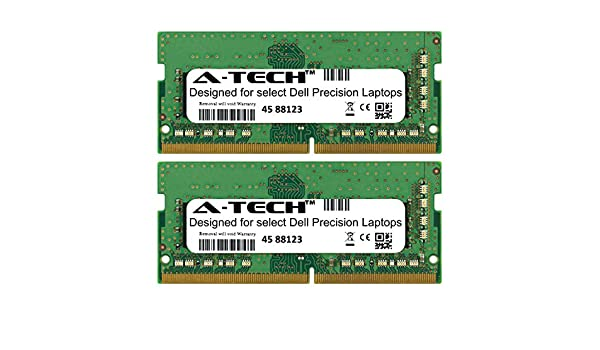 2 x 8GB A-Tech 16GB Kit for Dell Precision 7000 Series 7510 7520 7710 7720 7530 7730 M7510 M7520 M7710 M7720 M7530 M7730 2666Mhz DDR4 Mobile Workstation Laptop /& Notebook Memory Ram Modules