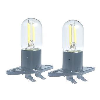 Bombilla LED de filamento de 1.5 W Z187 para microondas, 240 V, 20 W