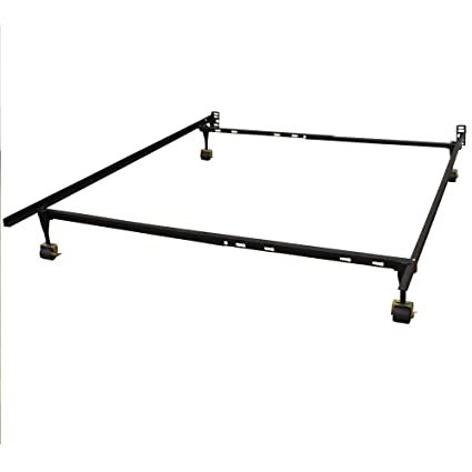 Amazon.com: Classic Brands Hercules Standard Metal Bed Frame ...