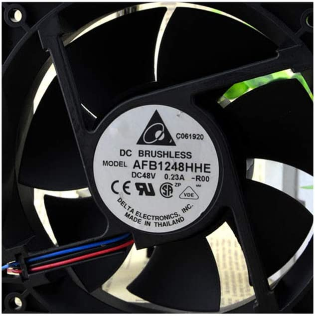 Cytom for Genuine Delta 12CM Cooling Fan 12038 48V 0.23A AFB1248HHE Three-line Quality Assurance A