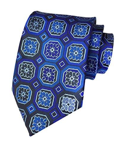 Tie Men Striped Woven Business Blue New Jaquard Necktie MENDENG Wine Silk Gray Large 5gqwtPn6x