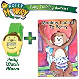 Potty Monkey Watch with Potty Monkey Book