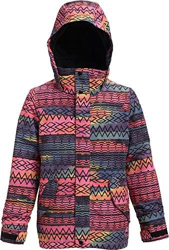 (Burton Little Girls' Elodie Jacket, Technicat Dream, Medium)