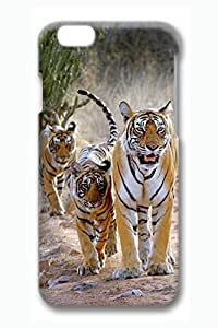Case Cover For SamSung Galaxy S6 3D Fashion Print Drop Protection Case Cover For SamSung Galaxy S6 Royal Tiger Family Scratch Resistant es