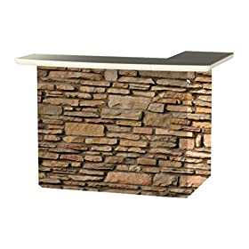 Best of Times 2000W2406 Rock Wall Portable Patio B...