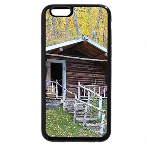 iPhone 6S / iPhone 6 Case (Black) Old Log House